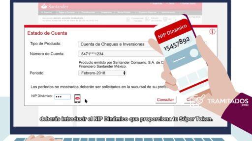 Checar estado de cuenta Santander