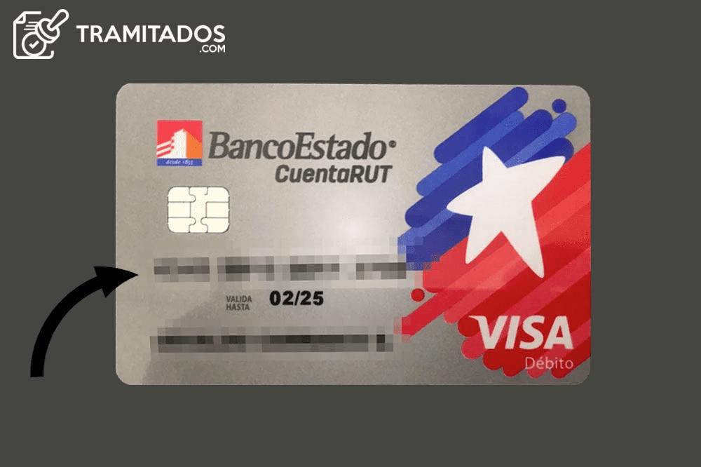 numero tarjeta cuenta rut visa debito