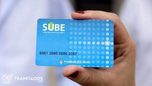 Consultar saldo tarjeta SUBE