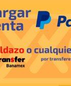 Recargar PayPal desde Oxxo