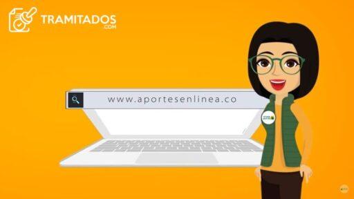 Como obtener clave de pago aportes en linea