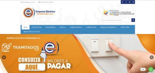 Consultar planilla de luz en Riobamba EERSA